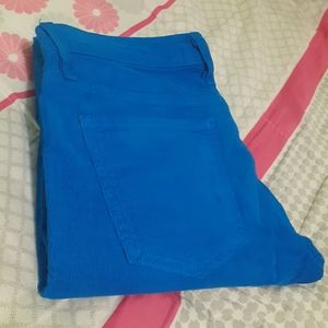 CURRENT/ELLIOT W32x42L ROYAL BLUE CORDUROY PANT